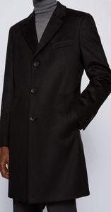 Hugo Boss Cashmere Wool Overcoat